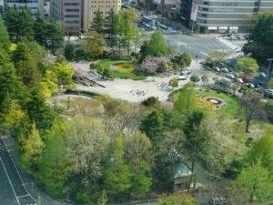 勾当台公園